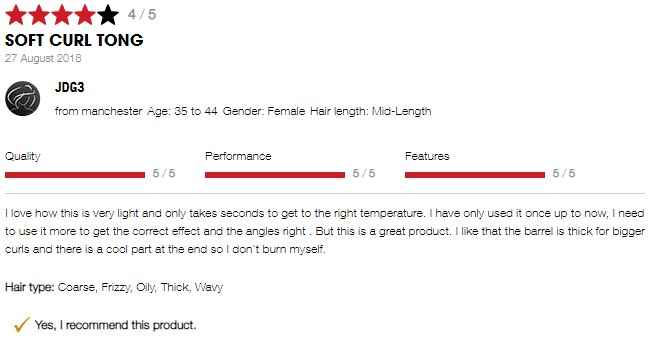 ghd Curve Soft Curl Review